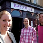 Caroline Entwistle, Commercial Property Solicitor at Withy King Solicitors and Rod and Max Johnson, owners of Baroque Nightclub