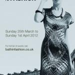 Bath in Fashion 2012 poster