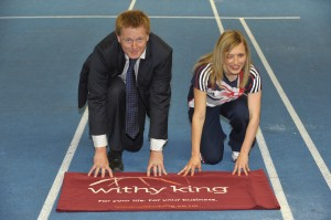 Law firm Withy King helps sprinter Katrina go for gold at London 2012 Paralympics