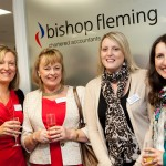 l-r, Debbie Boulton (Bishop Fleming), Janet Lockett and from The Financial Management Centre, Briony Bishop and Simone Paull