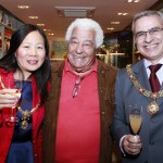Antonio Carluccio and The Mayor and Mayoress of Bath