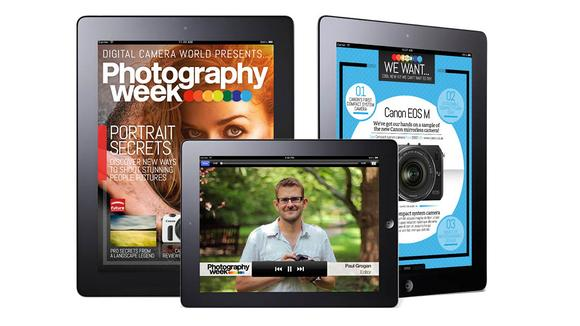 Bath magazine publisher Future develops tablet-only weekly photography title
