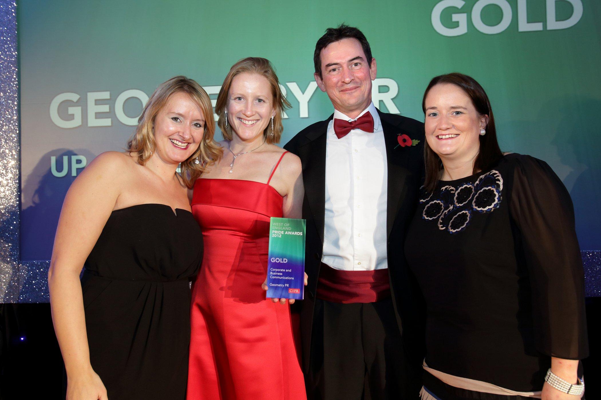 Top PR awards for Bath agencies Media Safari and Geometry