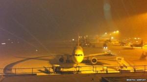 Snowfall brings chaos to businesses across Bath area