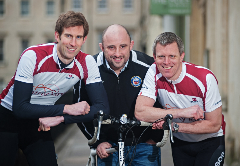 Lawyers gear up to join Bath Rugby Foundation's gruelling nine-day cycle trek