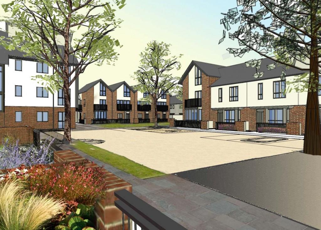 Bath architects toast work on new neighbourhood for Cheltenham