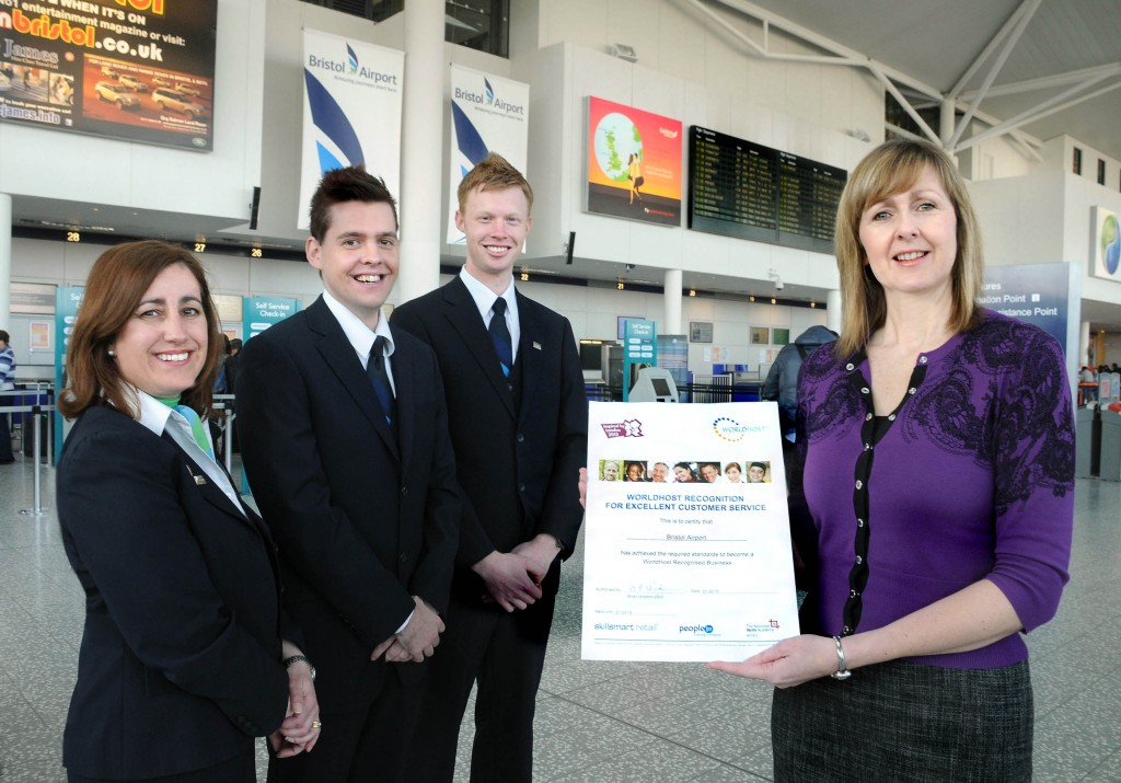 Recognition for Bristol Airport's commitment to training