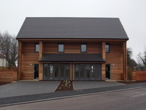 Energy-efficient homes completed by Bath firm Halsall Construction