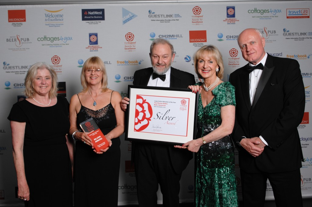 Major national tourism award for Roman Baths