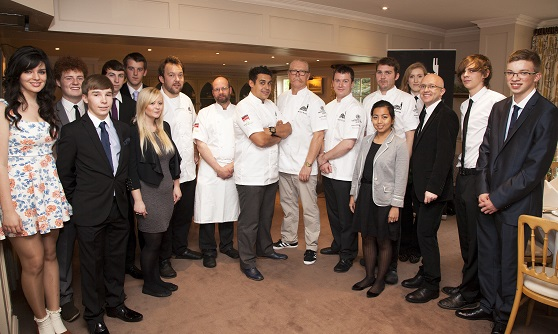 Not too many cooks – top chefs work together to mark charity's success