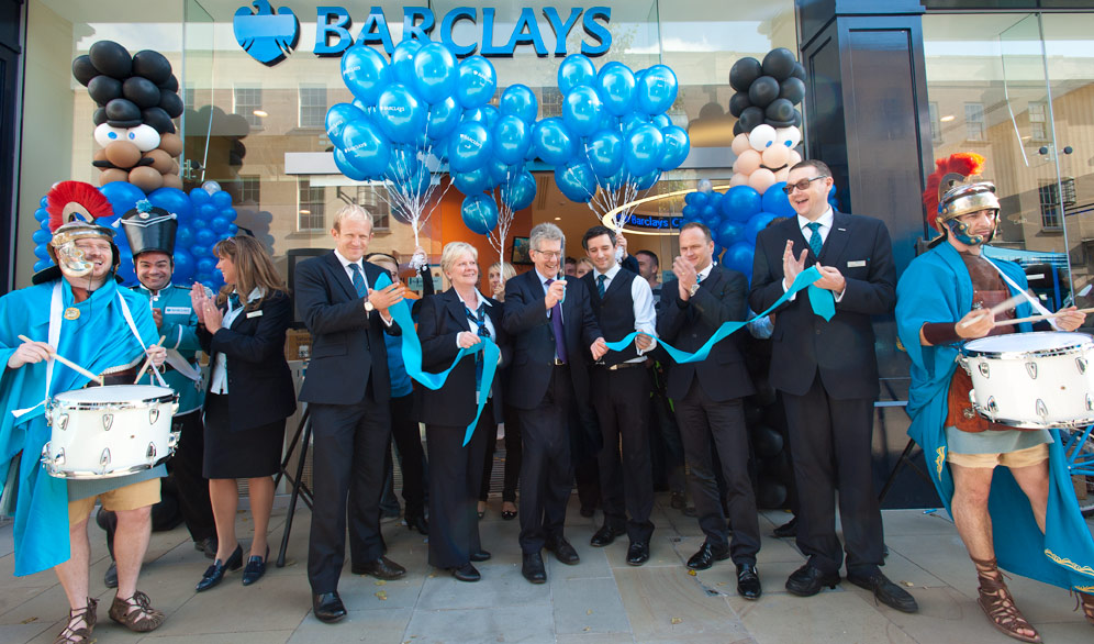 New-look £1m Bath branch opened by Barclays