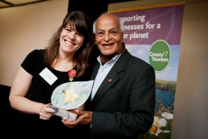 Rural walks firm Foot Trails steps forward to claim prestigious green tourism award