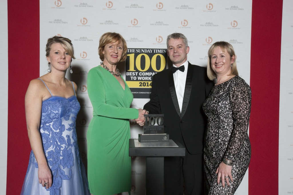 Top 100 best employers ranking recognises law firm Withy King's commitment to its staff