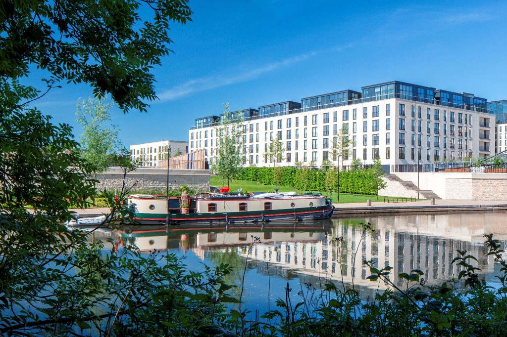 Double top for Crest Nicholson Regeneration's Bath Riverside scheme at housing awards