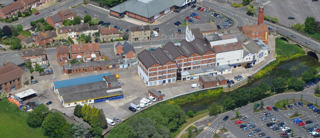 Riverside business park with redevelopment potential comes onto market