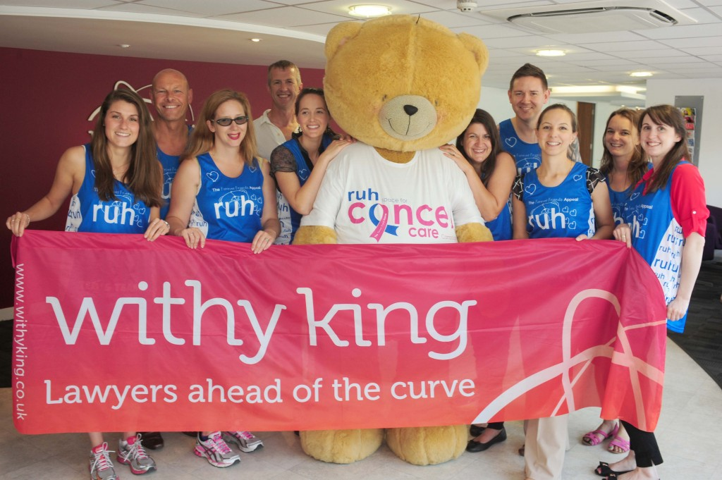 Withy King's summer of sport nets £13,000 for RUH's Forever Friends Appeal