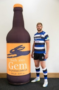Bath Ales joins growing pack of Bath Rugby business partners
