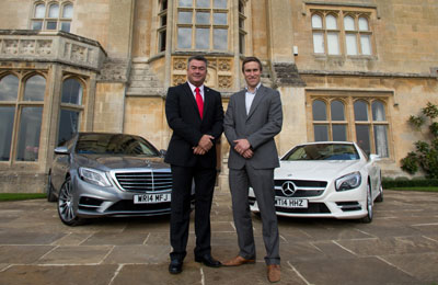 Bath Rugby drives forward with Mercedes-Benz tie-up