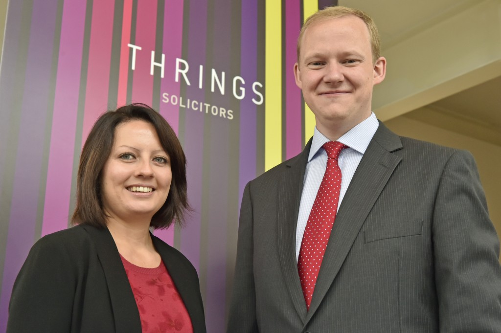 Two solicitors join Thrings' commercial property team as market recovery spurs growth