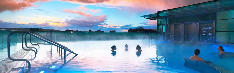 Thermae Bath Spa Twilight