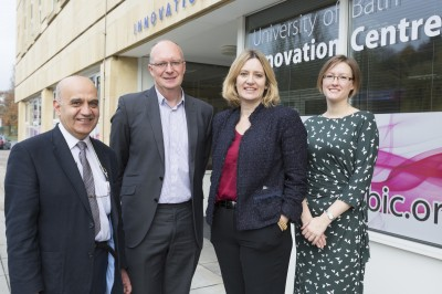 Minister's visit backs Bath's position as hotbed for energy innovation
