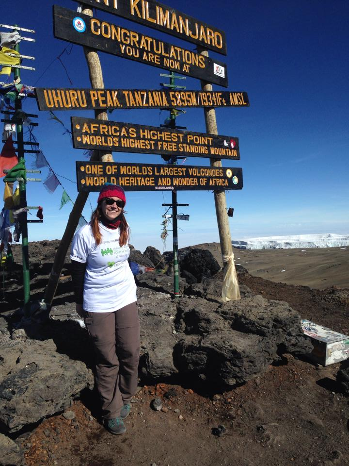 Epoch PA Helen's epic Kilimanjaro charity climb raises thousands for children's hospice
