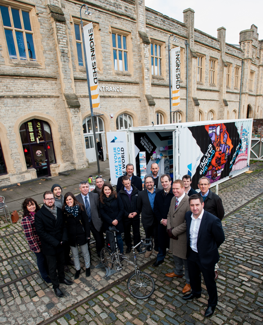 Bath agency Mr B & Friends draw on street art scene to encourage exporters to think outside the box
