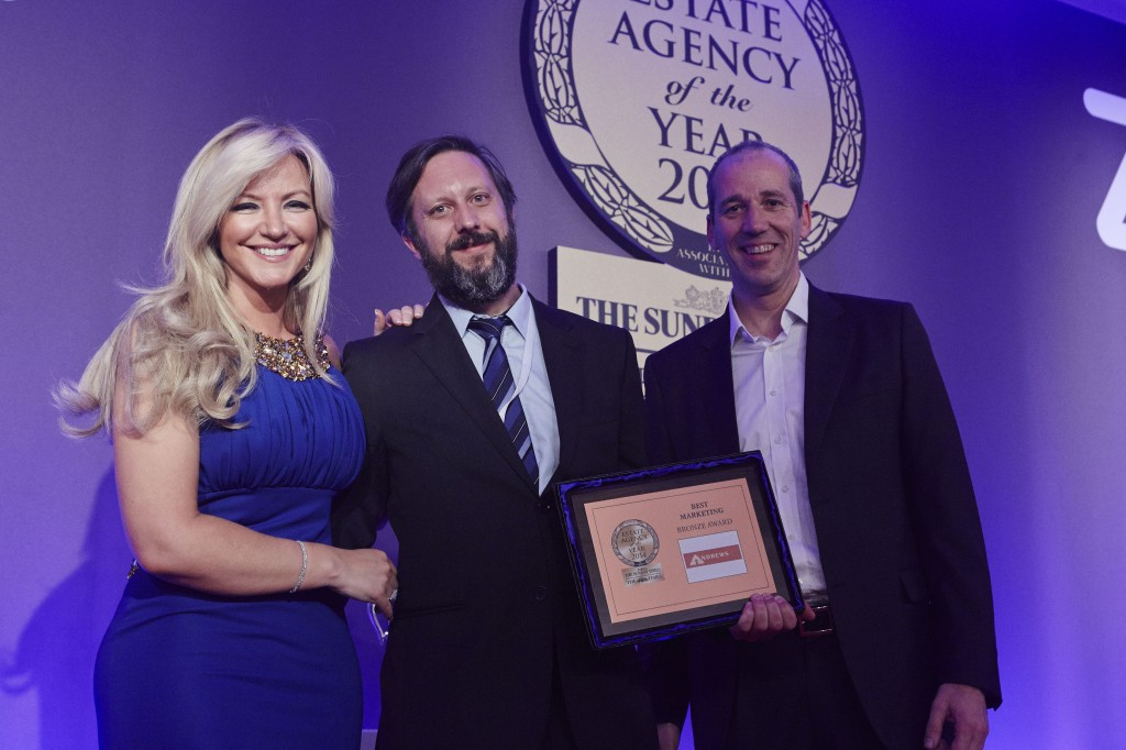 Andrews lands four trophies at Estate Agency of the Year Awards