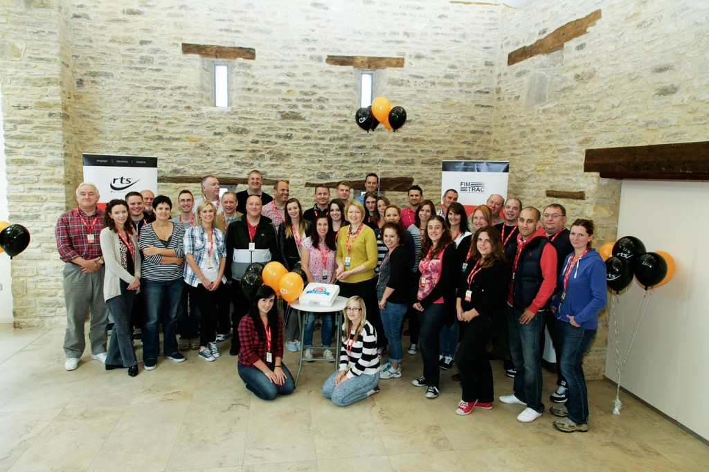 Global staff development firm lands its own 'best workplace' accolade