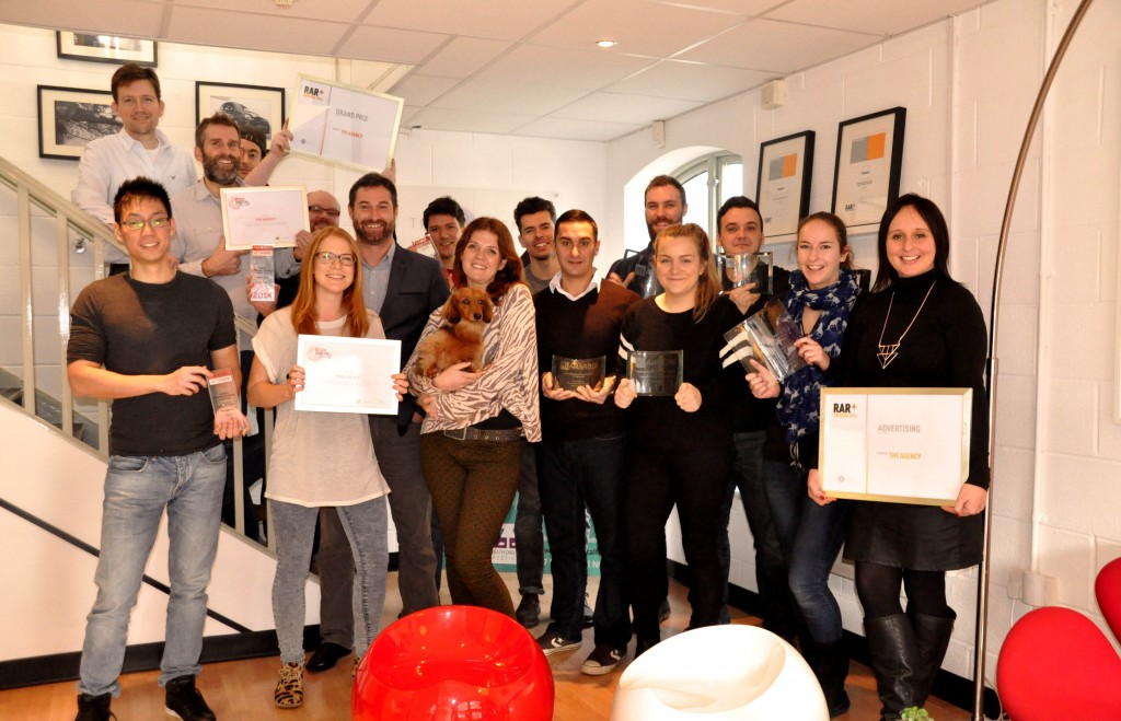 The Agency's awards haul puts it at the top of industry league table