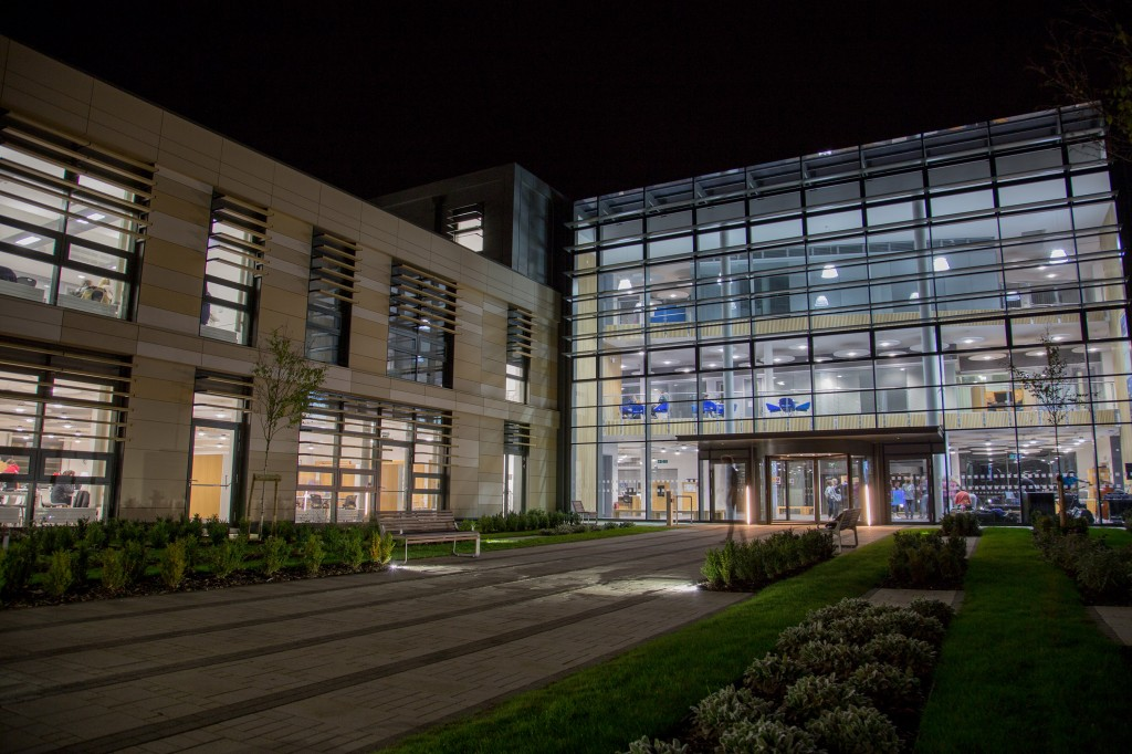 National construction award nomination for recently opened Bath Spa Uni academic building