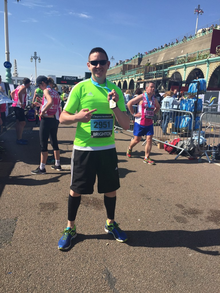 Marathon man Rob takes charity fundraising in his stride