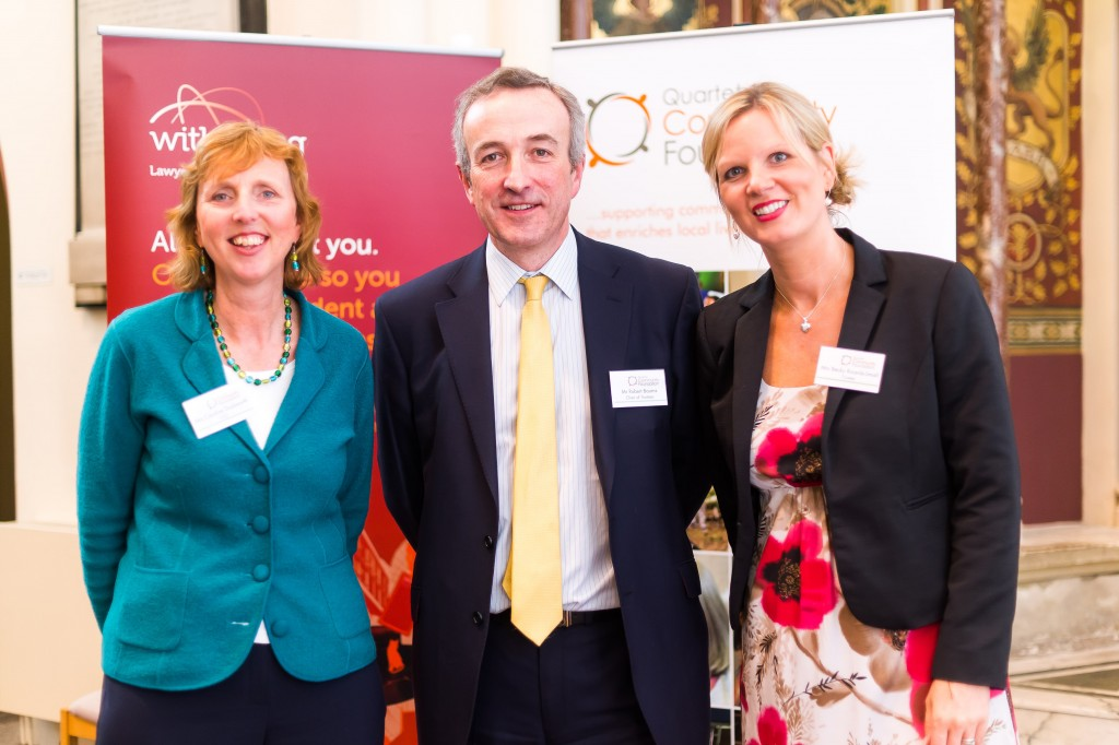 Inspirational work of Bath charities highlighted to businesses at Withy King event