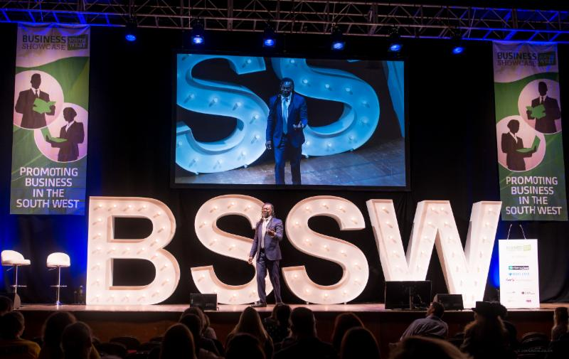 Believe in yourself to slay your own dragons, Levi Roots tells Business Showcase South West