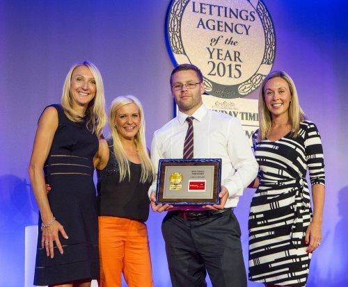 Medal haul for Andrews at prestigious lettings industry awards