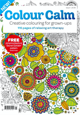 Future launches title to calm adults hooked on colouring-in craze