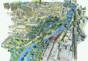 Top architects' designs for Bath's first river bridge for a century to be revealed