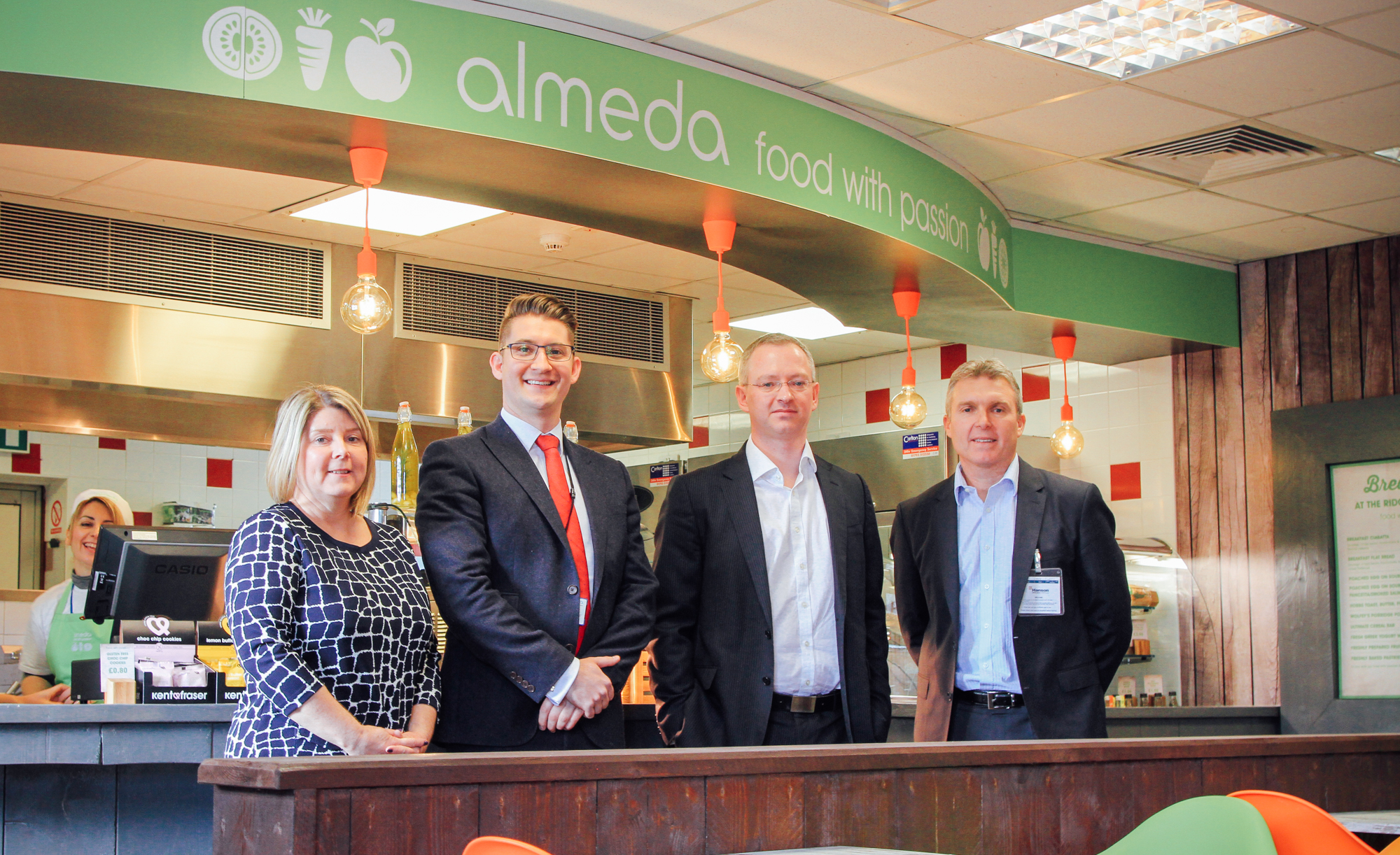 Almeda launches first 'food with passion' staff restaurant