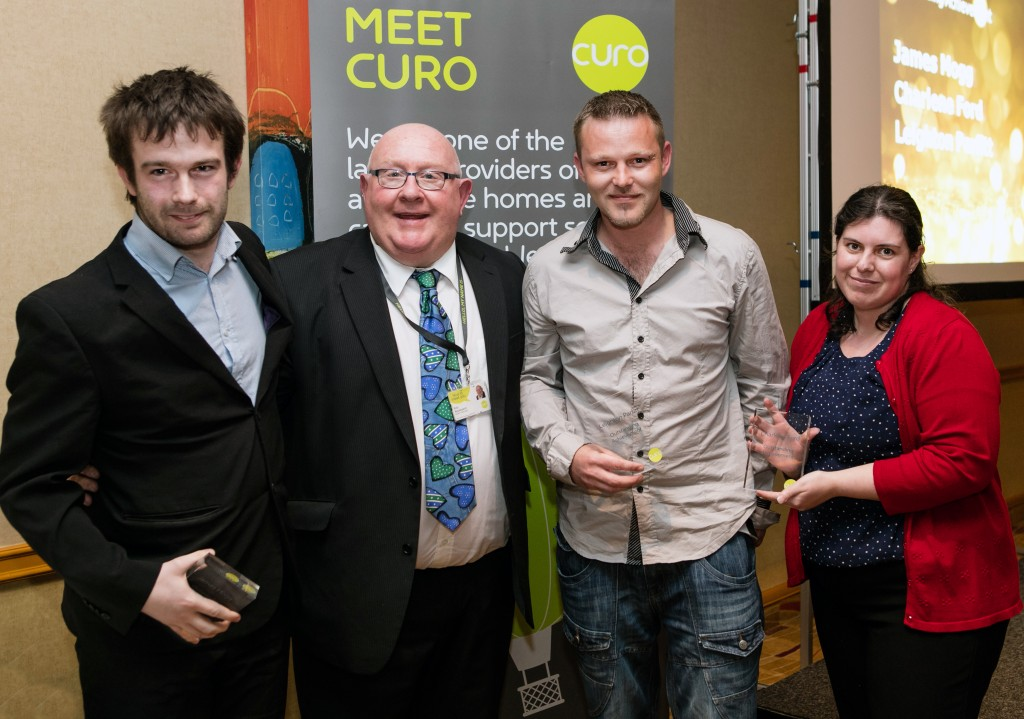 Curo work placement programme celebrates shining examples
