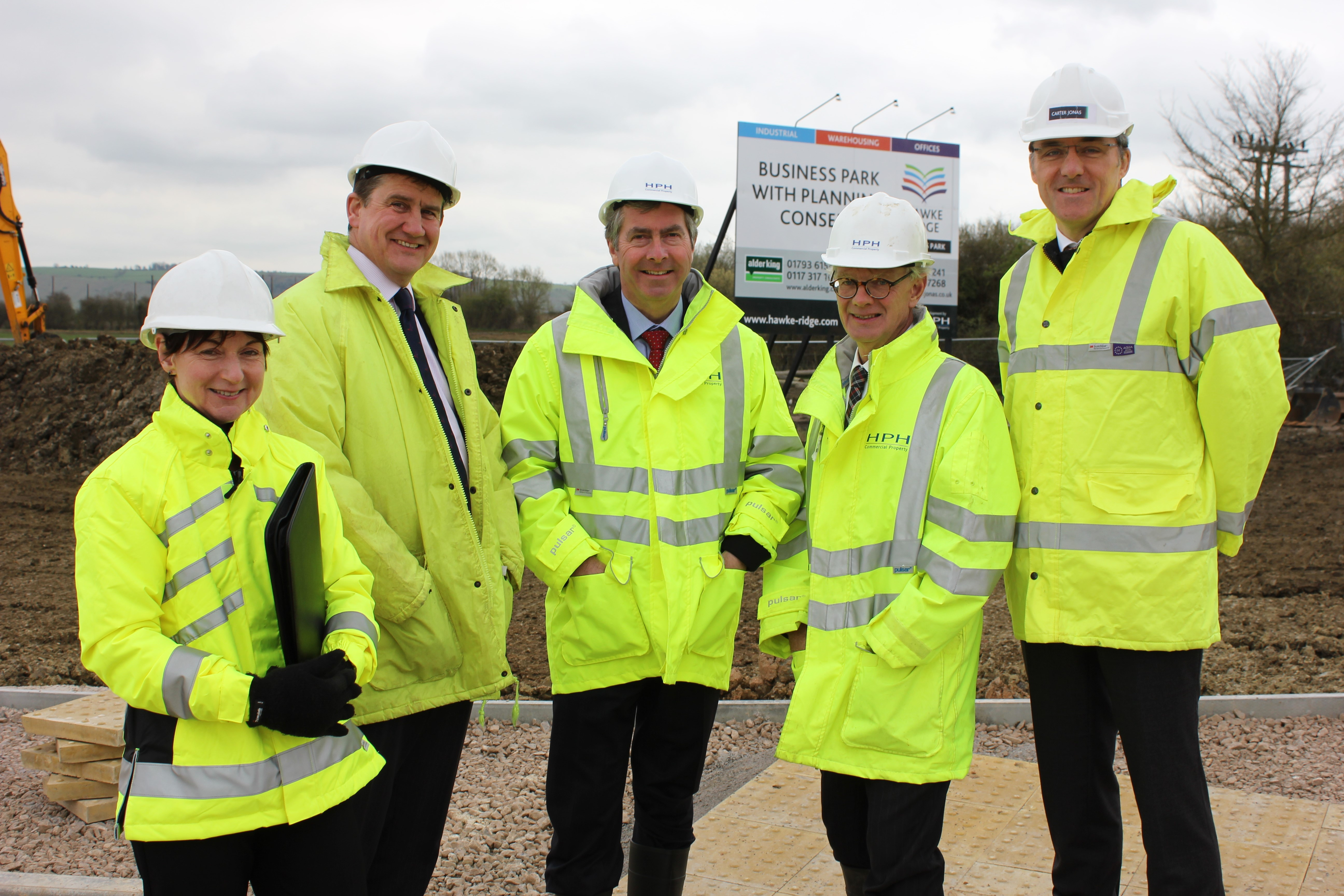 West Wiltshire business park signs on Carter Jonas as joint agent