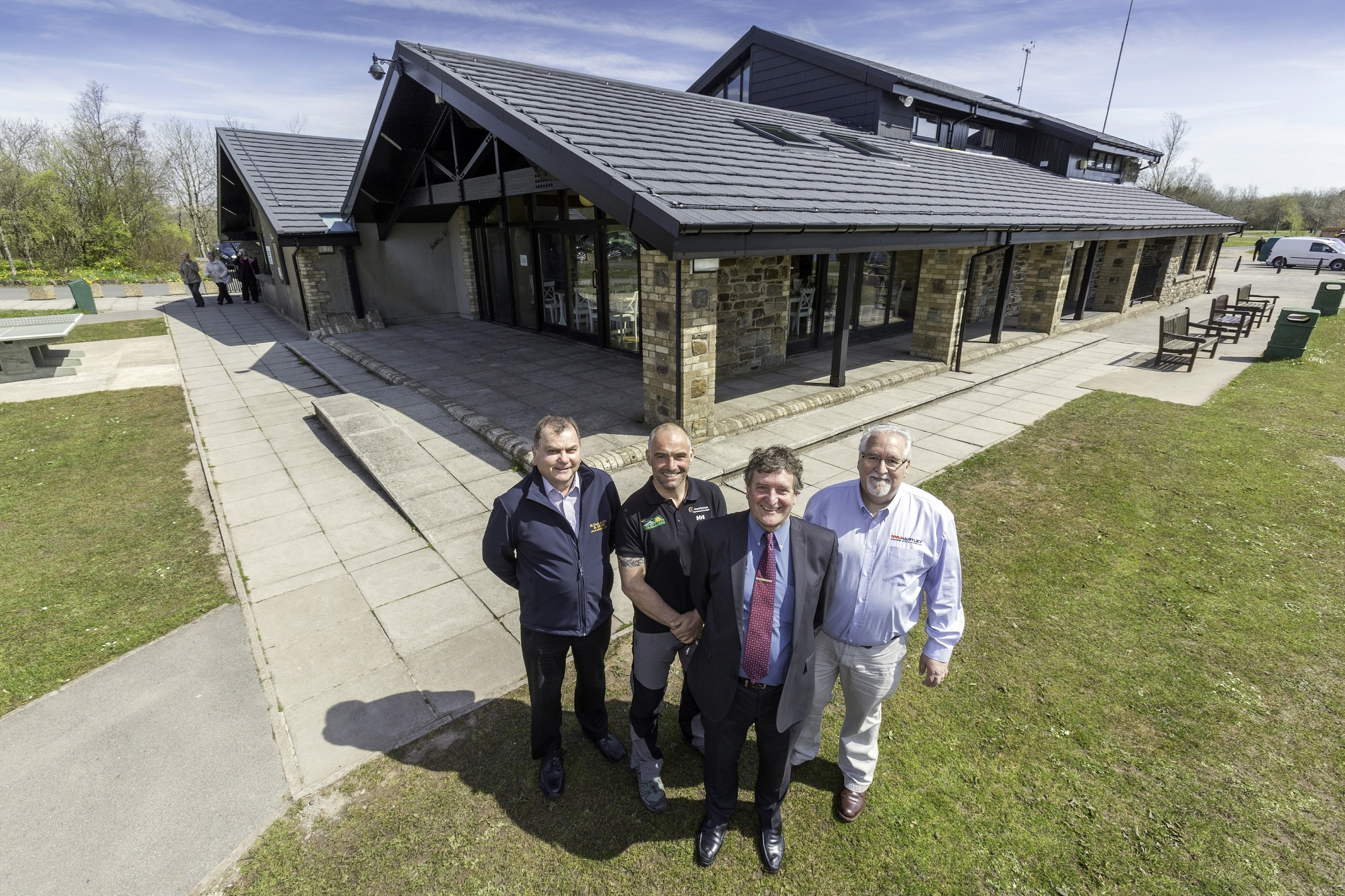 Steel Tile Roof Gives New Lease Of Life To Leaky Welsh