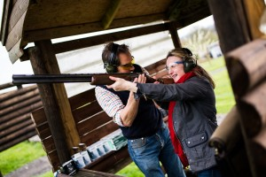 Withy King wealth protection team's clients hit the target at outdoor pursuits day