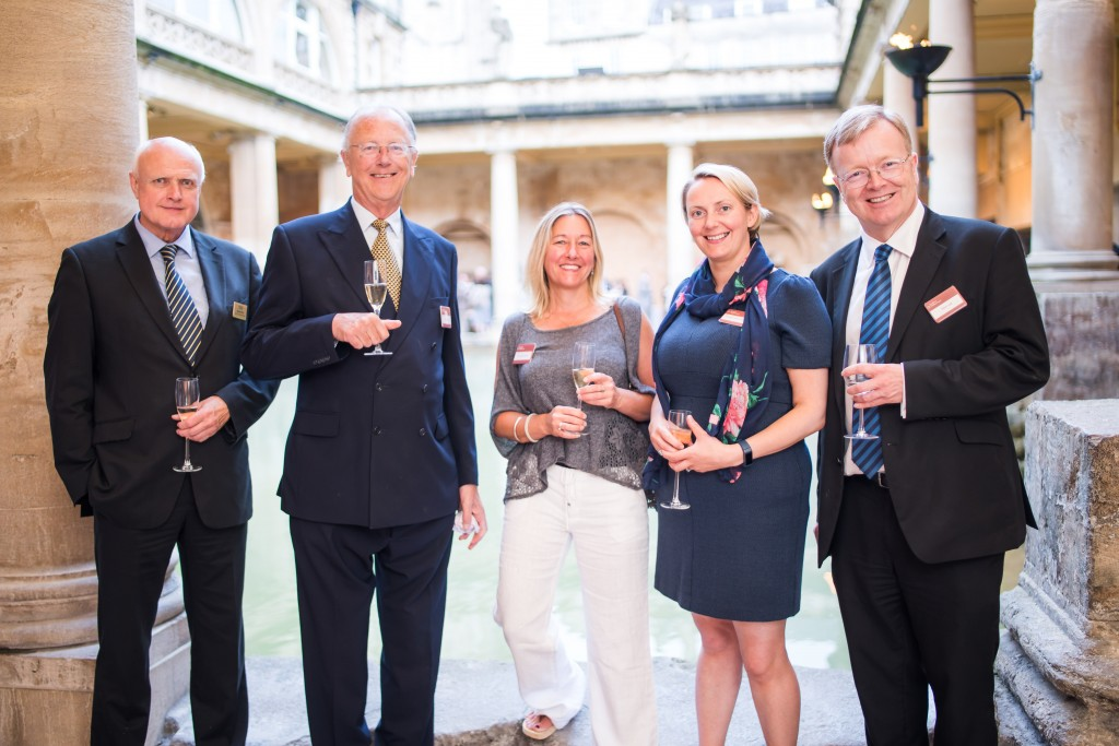 Roman Bath's 'hidden' spaces explored by guests at exclusive Smith & Williamson event