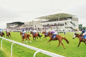 Opening of new grandstand takes Bath Racecourse's redevelopment across the finishing line