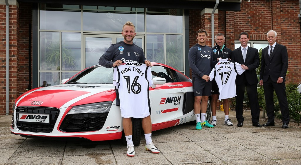 Avon Tyres drives into football sponsorship with Derby County deal