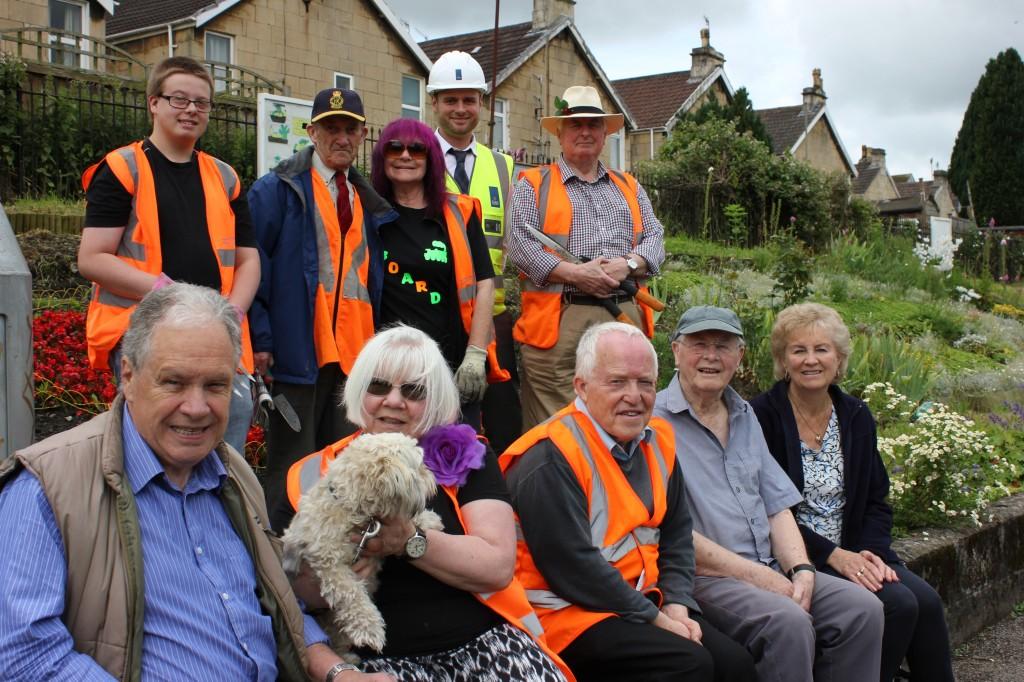Oldfield Park station upkeep stays on track thanks to Crest Nicholson donation