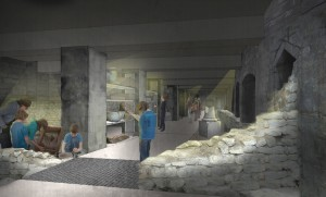Charitable foundation's donation for Roman Baths' Archway Project