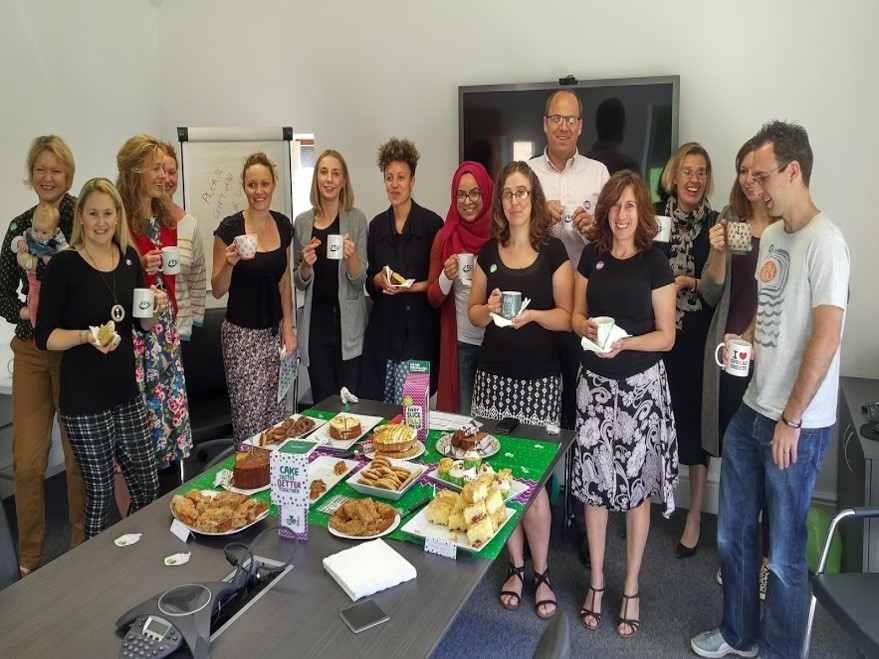 No soggy bottoms at RTS Group's charity coffee and cake morning