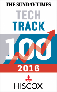 Prestigious Tech Track 100 placing for fast-growing digital platform provider