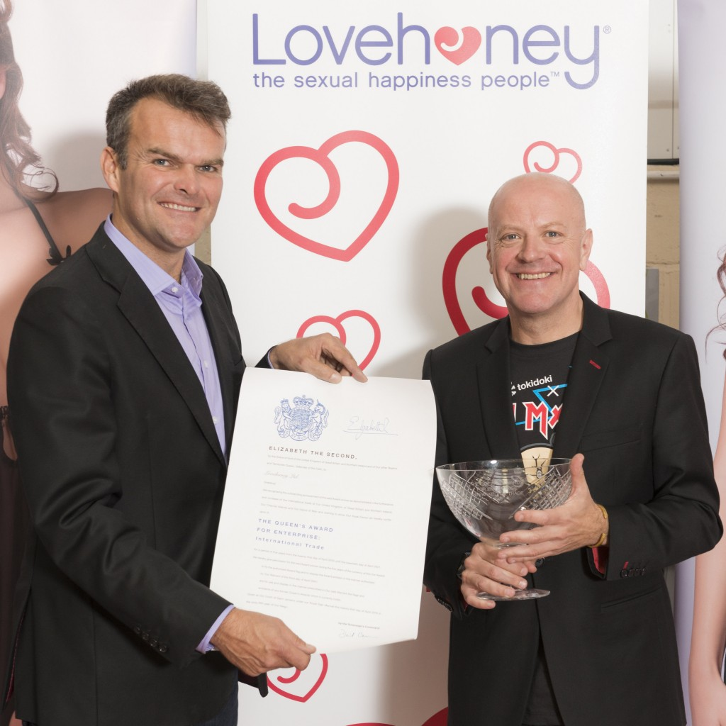 Sales and profits surge brings pleasure to Lovehoney as Fifty Shades tie-up reaps rewards